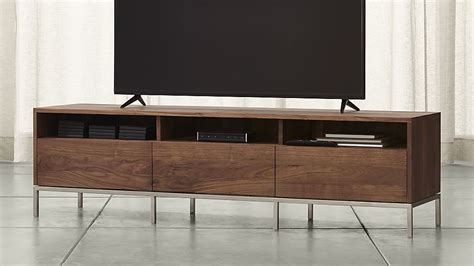 low profile media cabinet low profile media consoles in the living room to keep your