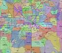 Dallas Zip Codes - Dallas County Zip Code Boundary Map