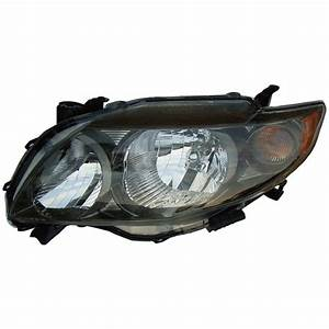 2010 Toyota Corolla Headlight Assembly From Car Parts