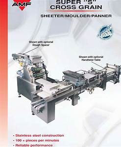 Amf Super Cross Grain Sheeter Users Manual 22 N Aa New11x17