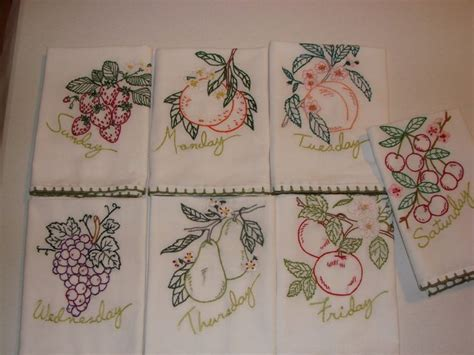 kitchen towel machine embroidery designs embroidered quot tea quot towels made from purchased fabric 8670