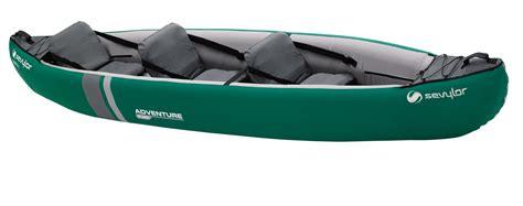 Opblaasbare Kajak by Sevylor Adventure Plus 3 Person Inflatable Kayak Water