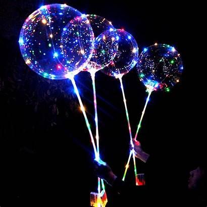 Balloons Balloon Led Decoration Christmas Luminous Bubble