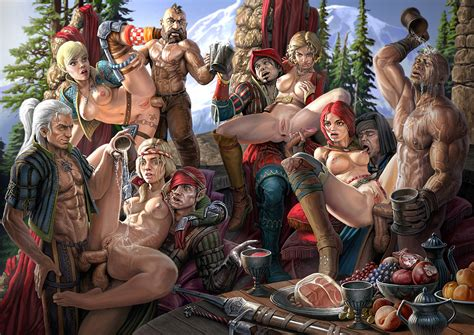 Witcher2 Final №17 By Prot Hentai Foundry