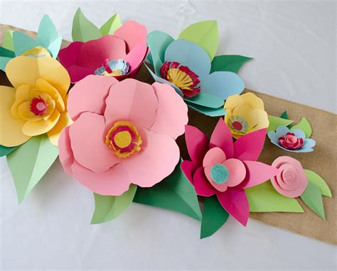 how to make paper flowers project nursery