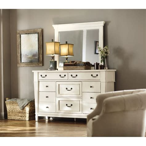 How To Style A Dresser by Home Decorators Collection Bridgeport 8 Drawer Antique