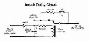 Wingfoot 813 Inrush Delay Circuit Description And Schematic Diagram