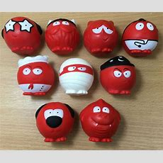 Red Nose Day 2017  Comic Relief Complete Set Of 9 Noses  New Ebay
