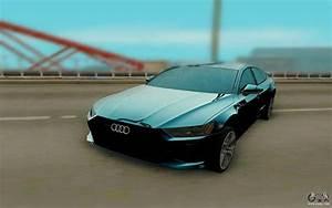 Audi A7 2018 : audi a7 2018 for gta san andreas ~ Nature-et-papiers.com Idées de Décoration