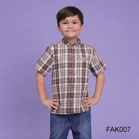baju muslim baju koko anak afrakids afra fak007 jual kaos anak muslim jilbab anak agen