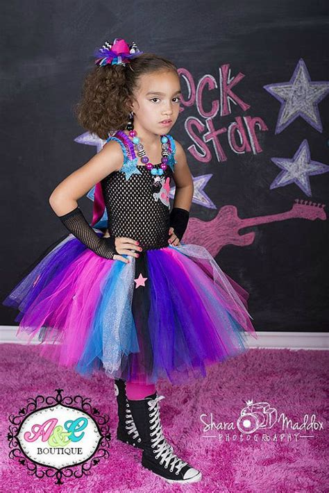 Monstar Popstar Yellow rockstar tutu dress high tutu dress rockstar