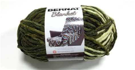 Home Decor Yarn : Bernat Big Blanket Yarn Gathering Moss Large Skein 300