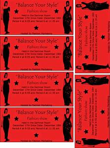 Fashion show ticket by fmagirl727 on deviantart for Fashion show ticket template