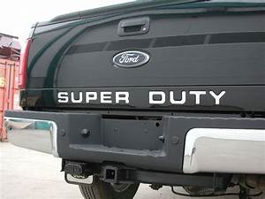 truck hardware truck hardware gatorgear super duty With stainless steel super duty tailgate letters