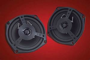 Show Chrome Replacement Speakers Fits Honda Gl1800 Gold Wing Front  Rear 2001