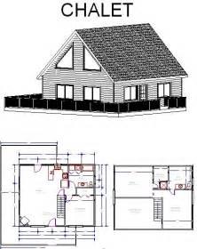chalet cabin plans chalet plans
