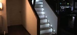 Kit Led Escalier : eclairage led escalier sophielesp titsgateaux ~ Melissatoandfro.com Idées de Décoration