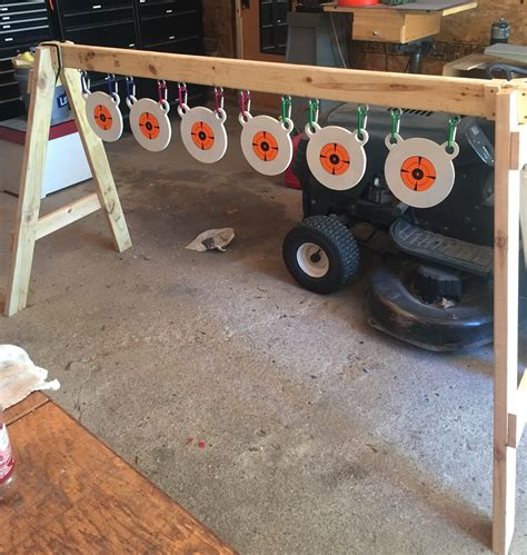 poor mans plate rack shooting targets diy
