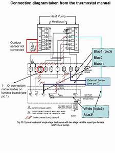 2 Stage Heat Thermostat Wiring Diagram