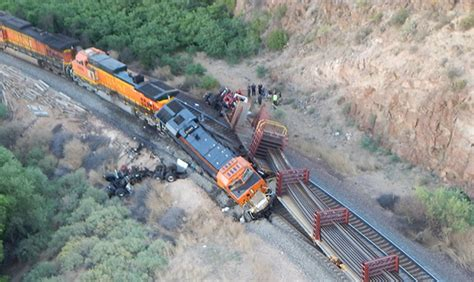 One Killed In Collision Of Bnsf Trains In Arizona