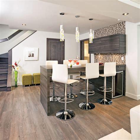 cuisine en sous sol aménagement intelligent au sous sol sous sol inspirations décoration et rénovation