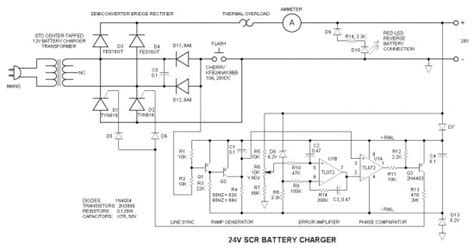 battery charger  scr