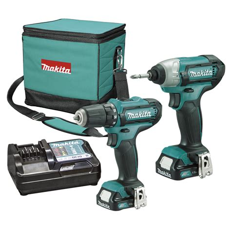 makita akkuschrauber 12v makita 12v li ion drill driver and impact driver combo kit