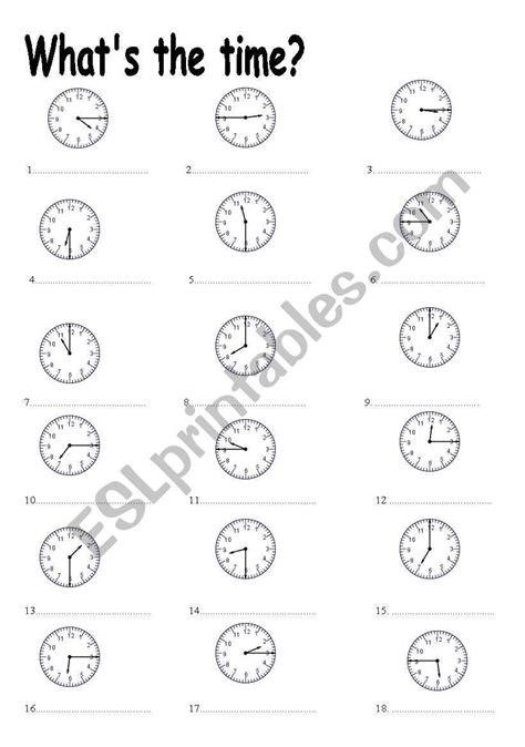 telling  time   quarter  quarter pastetc