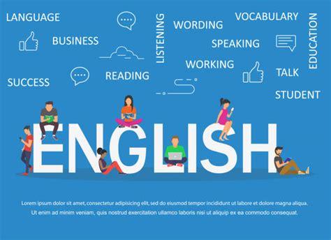 learning english illustrations royalty  vector