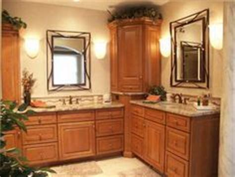 Small L Shaped Bathroom Vanity by Vanity With Corner Storage Decorating