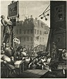 Gin Lane vs Beer Street - William Hogarth