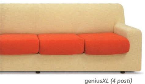 Copridivano Genius Lavaggio : Copridivano 4 Posti Genius Xl