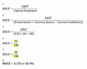 Capital Employed Berechnen : investment management profitability ratios 1 return on ~ Themetempest.com Abrechnung