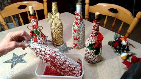 Decorate Wine Bottles - exquisitely decorated wine bottle