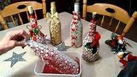 decorating wine bottles Exquisitely decorated wine bottle - YouTube