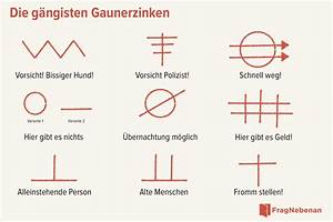 Einbrecher Symbole Bedeutung : gaunerzinken wie einbrecher wohnungen markieren ~ Buech-reservation.com Haus und Dekorationen