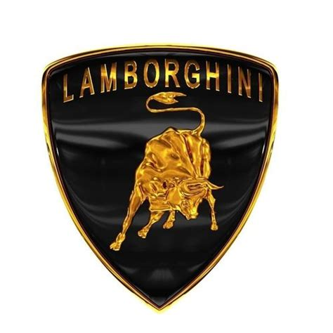 car  model lamborghini logo  cgtrader