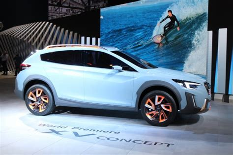 subaru xv concept hints   crosstrek due