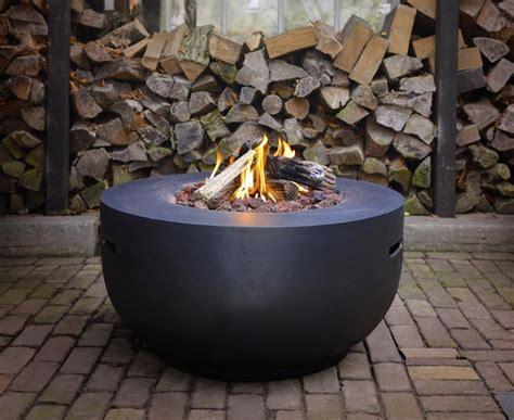 happy cocooning feuertisch bowl betonlook  kaufen