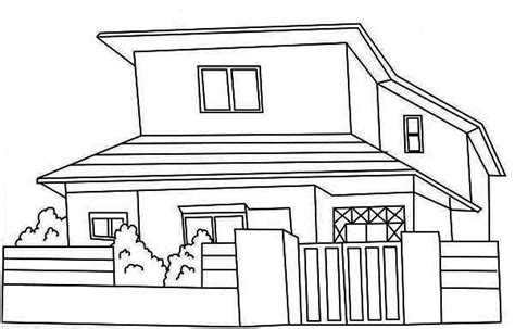 Coloring House by House Coloring Pages Bestofcoloring