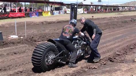 Top Fuel Motorcycle Dirt Drag Racing April 2016