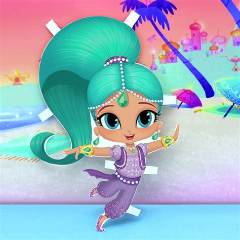 shimmer and shine l shimmer and shine paper dolls nickelodeon parents