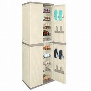 Meuble Plastique Exterieur : meuble chaussures exterieur ~ Teatrodelosmanantiales.com Idées de Décoration