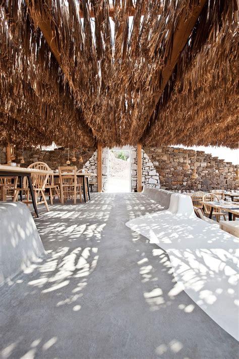 alemagou restaurant  mykonos idesignarch interior