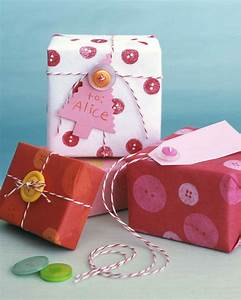 Gift-Wrapping Ideas for Kids Martha Stewart