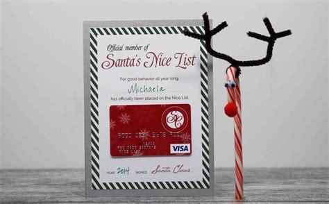 Free Printable Santas Nice List Certificate Gcg