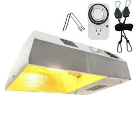 hps light fixture home depot viavolt 250 watt hps white plant grow light kit v250c