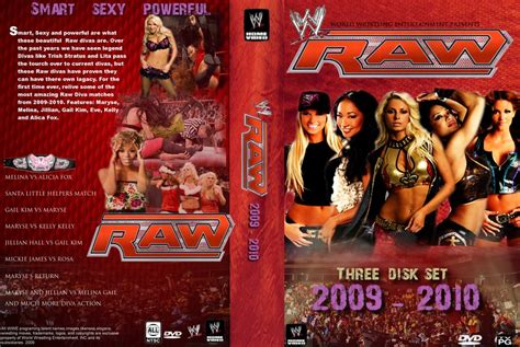 Wwe Raw Divas Dvd By Robsnow19 On Deviantart