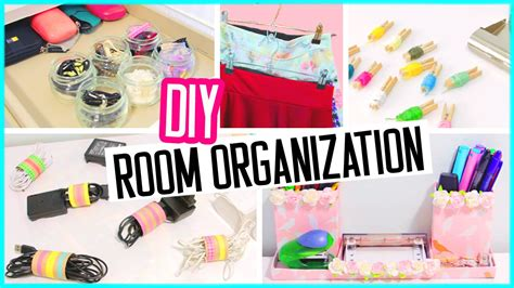 diy room organization hacks  cost desk  room