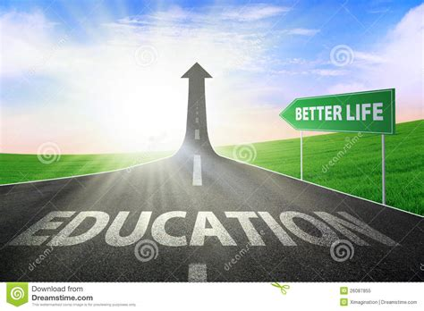 Education For Better Life Stock Image Image Of Learn